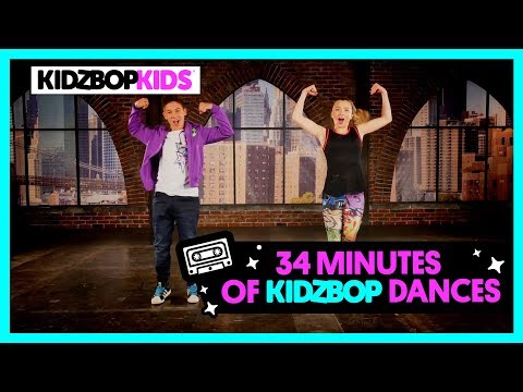 KIDZ BOP Kids – KIDZ BOP Shuffle, Fight Song, & other top Dance Along Videos [34 minutes]