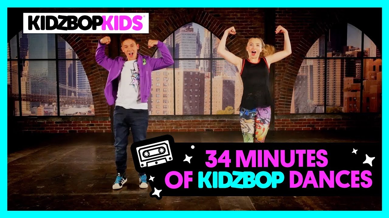 34 Minutes Of Kidz Bop Dance Along Videos Youtube