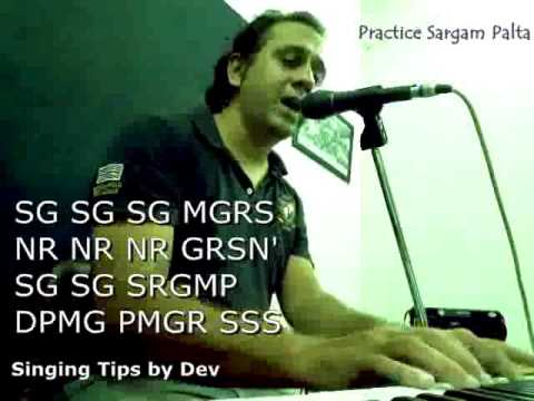 Learn Basic Sargam Palta Hindustani Classical Music singing vocals