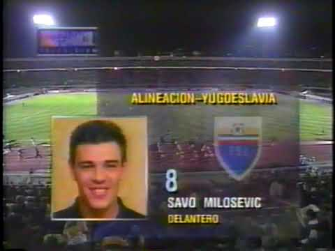 [546] 25.03.1998 - Friendly - Colombia - Yugoslavia