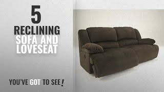 Top 10 Reclining Sofa And Loveseat [2018]: Ashley Furniture Signature Design - Toletta Manual