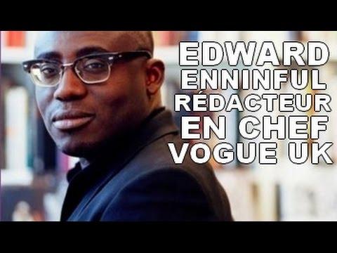EDWARD ENNINFUL   Nommé Rédacteur En Chef De VOGUE UK