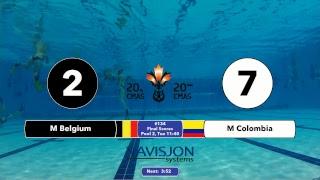 G132 and G134 - 20th CMAS Underwater Hockey World Championships