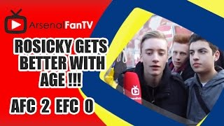 Rosicky Gets Better With Age !!! - Arsenal 2 Everton 0