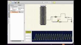 ElectronicCircuit Simulator, will integrate Arduino boards.