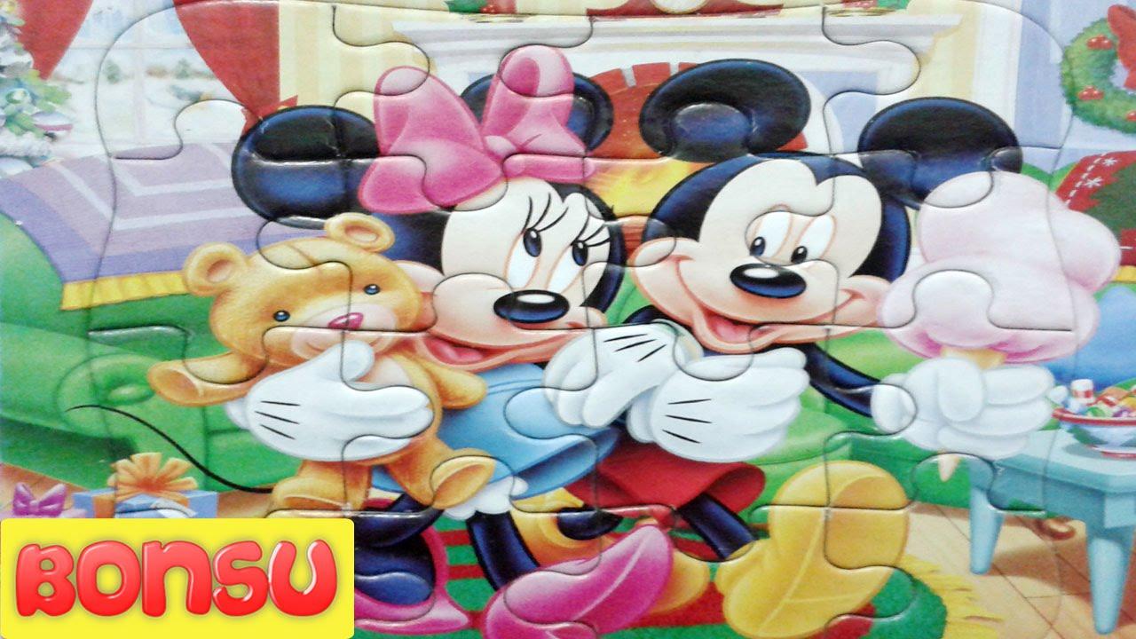 Đồ Chơi Thông Minh | Vui Chơi Cùng Bé – Phát Triển Tư Duy Ghép Hình Chuột Mickey Và Mimi BONSU TV