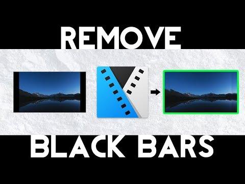 How To Remove Black Bars (Sony Vegas Pro)