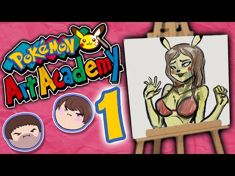 Pokemon Art Academy: Taking Credit - PART 1 - Grumpcade