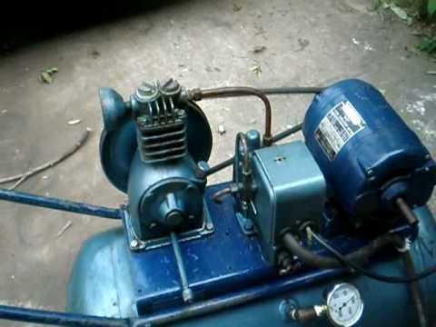 1958 Quincy Air Compressor Youtube