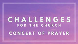 January 26th 2020 Concert of Prayer