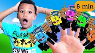 Синий трактор песенки для детей. Сборник Синий трактор учим цвета. Часть 1