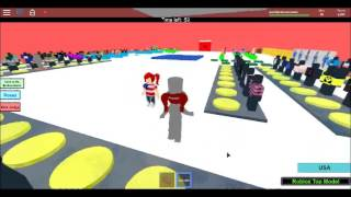 Roblox top model! part 2 with/Connie
