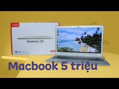 Macbook Air 13'' giá 5 triệu?? Masstel Notebook L133