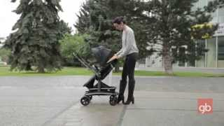 GB ROKIN stroller  A2009 www.goodbaby-shop.com(http://www.goodbaby-shop.com Характеристика: Алюминиевая рама Передние поворотные колеса с фиксаторами Функция..., 2014-05-30T20:25:16.000Z)