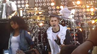 Justin Bieber - As Long As You Love Me (Live) Feat. Big Sean. Today Show, June 15, 2012