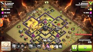 25.11.2015 Clash of Clans CW Clash Warriors vs kAmIkAze
