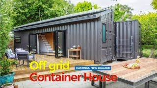 2x40ft Shipping Container Off Grid Tiny Home In New Zealand