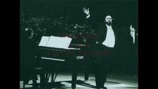 Pavarotti Luciano, Tre giorni son che Nina (Pergolesi)