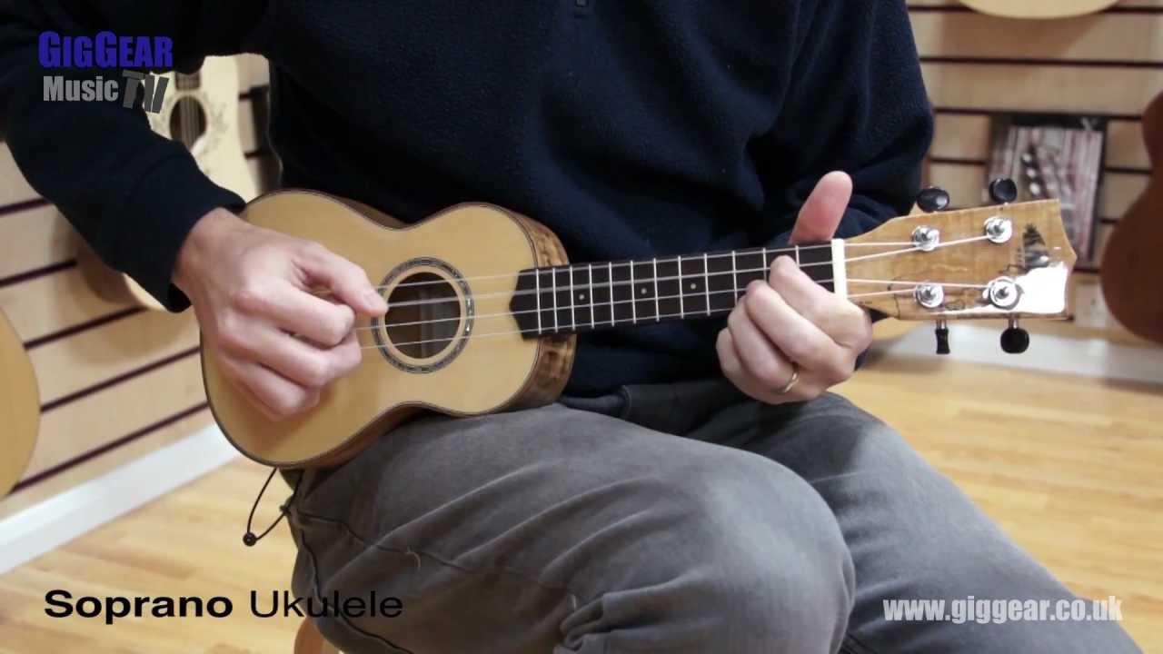 what size ukulele soprano v concert v tenor youtube