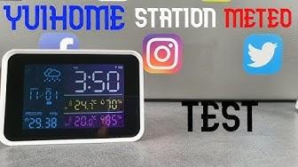 Xiaomi YuiHome Station Météo Numérique Test