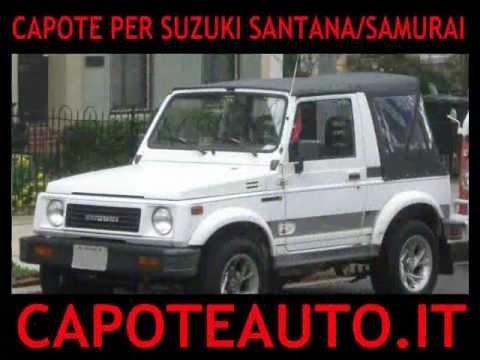 capote cappotta suzuki santana samurai cappottina 410 413 auto youtube. Black Bedroom Furniture Sets. Home Design Ideas
