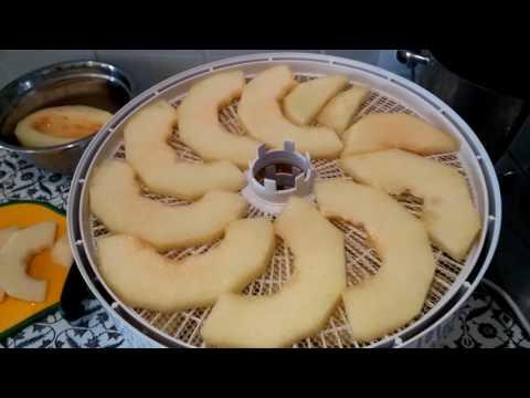 Как высушить дыню