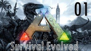 ARK Survival Evolved | Charaktererstellung und Raptorentod #01 | Let