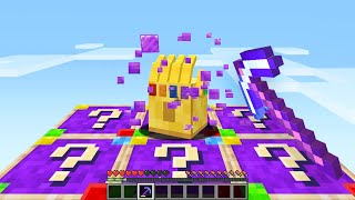 Opening SUPERVILLAIN LUCKY BLOCKS In Minecraft!