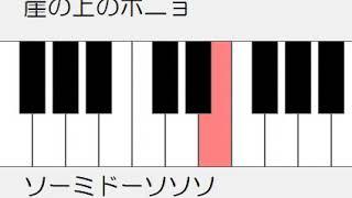 弾いてみよう。鍵盤動画作成エクセルマクロで作っています。 https://www9.big.or.jp/~mshinoda/EXCEL/MML/KB/