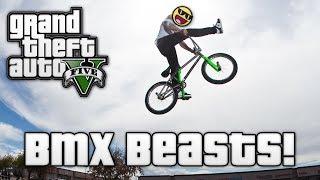 GTA V: BMX BEASTS! (GTA 5 Online Funny Moments)