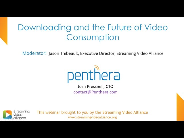Downloading and the Future of Video Consumption