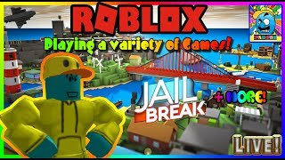 Roblox #74 | PLAYING WITH VIEWERS! | LIVE | (sjk livestreams #290)