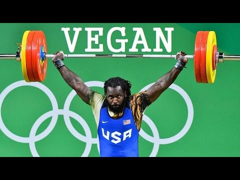 What A Vegan Olympic Weightlifter Eats In A Day! (Kendrick Farris)