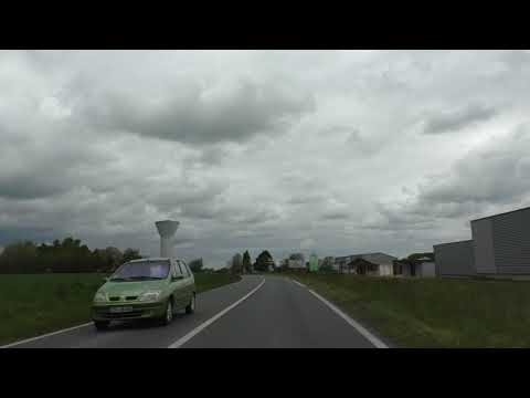 Driving On The N12, D767, D712 & D8 From 22200 Grâces To 22220 Tréguier, Côtes d'Armor, France