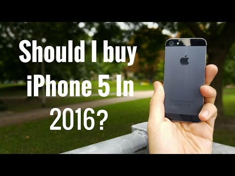Should I buy iPhone 5 in 2016?