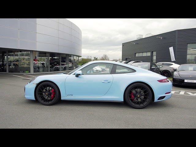 Porsche 911 Carrera GTS labellisée Porsche Approved
