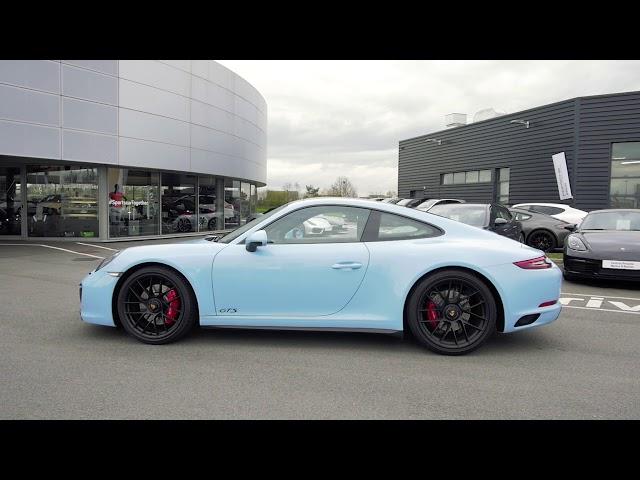 Porsche 911 Carrera GTS labellisée Porsche Approved