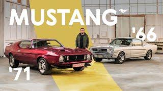 Ford Mustang: в чём секрет его величия? 1966 Fastback против 1971 Mach 1