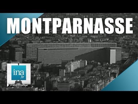 1968 : Le nouveau Montparnasse ou le Paris de l'an 2000 | Archive INA