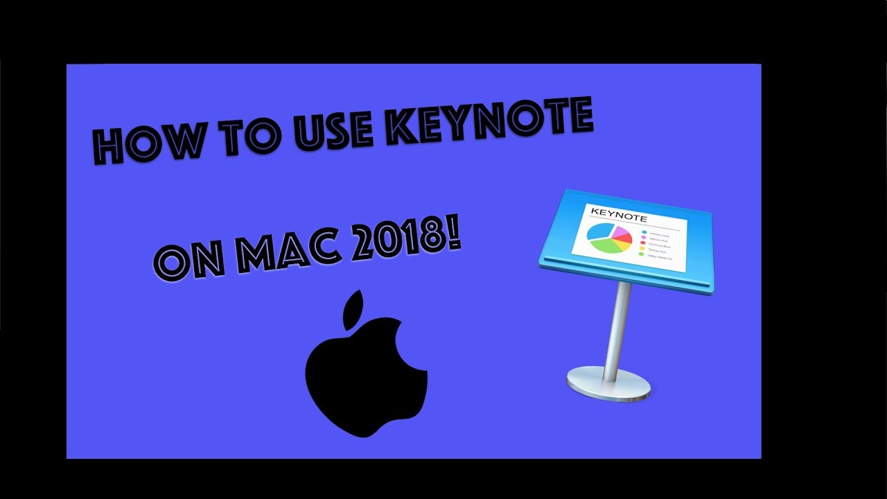 How to use Keynote 2018