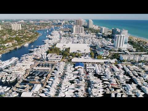 Superyachts at FLIBS 2017