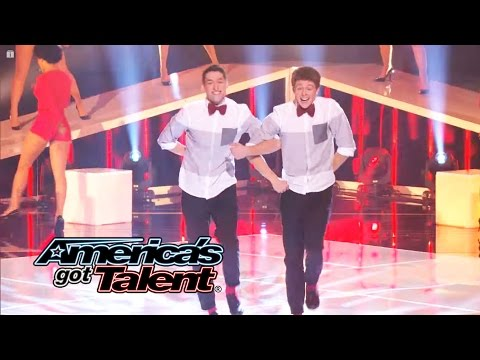 "Sean & Luke: Teen Duo Tap Dance to ""Classic"" by MKTO - America"