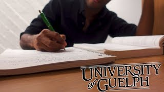 University Of Guelph - Studying In Library Vlog