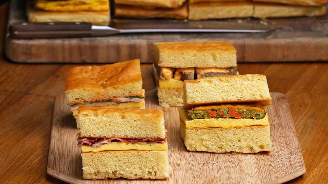 maxresdefault - 4-Flavor Giant Sheet Pan Breakfast Sandwich