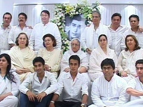 Latest Shashi Kapoor Photos >> Shammi Kapoor's Prayer service (Chautha) - YouTube