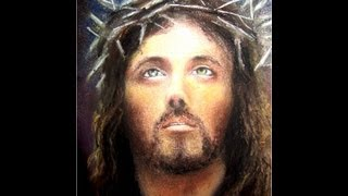 Clases de  Dibujo y Pintura Rostro de Jesús Crucificado