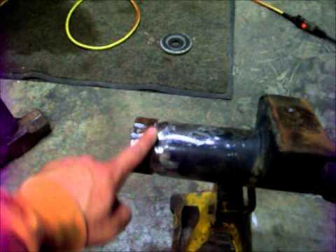 DIY: Dana 44 front axle cut and turn . By www.cutandturn.com.