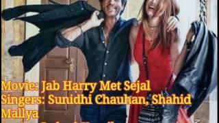 Radha- Jab Harry Met Sejal Full Song Lyrics | Shahrukh Khan | Anushka Sharma