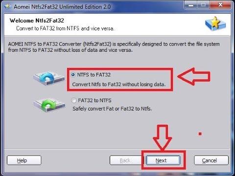 ntfs to fat32 convert mac