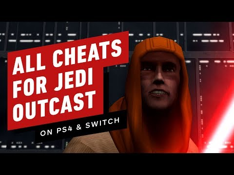 All Cheats In Jedi Knight 2: Jedi Outcast For PS4 And Switch